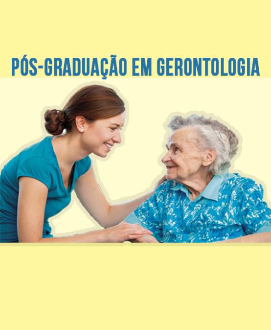 PÓS-GRADUAÇÃO LATO SENSU EM GERONTOLOGIA